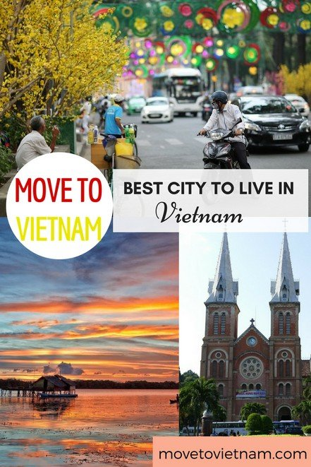 Are you undecided where to live in Vietnam? Find out here where is the best city to live in Vietnam depending on your needs. Beach towns in Vietnam or children friendly cities, they are listed here. #bestcitytoliveinvietnam #cityinvietnam