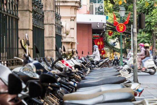 Hanoi mortorbike