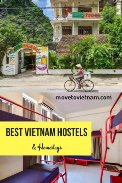Travelling in Vietnam soon and undecided where to stay in Vietnam? check out the list of this vietnam hostels to find the best hostels in Hanoi, best hostel in Sapa, best hostel in Hue, best hostel in Hoi an, best hostel in Mui Ne and best hostel in Ho Chi Minh. From party hostels in Vietnam to homestays in Vietnam. #hostelsinVietnam #vietnamhostel #hanoihostel #hochiminhhostel #homestayinvietnam