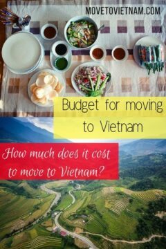 Here is a guide about how much does it cost to move to Vietnam. We will give you an idea about the budget for moving to Vietnam. #budgetformovingtovietnam #movetovietnam #costofmovingtovietnam