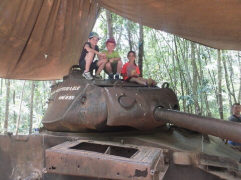 Fun things to do in Vietnam - Cu Chi Tunnels