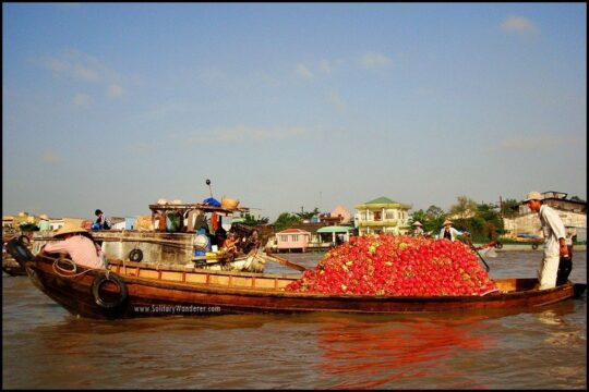 Fun things to do in Vietnam - mekong-vietnam-boat