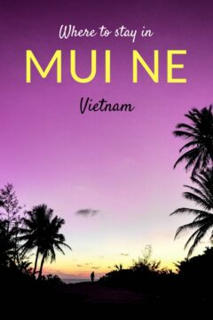 If you are heading to Mui Ne or Phan Thiet but you haven't decided where to stay in Mui Ne, check out these best places to stay. From resorts, hotels, party hostels, and homestays. #wheretostayinmuine #hostelsinmuine #resortinmuine