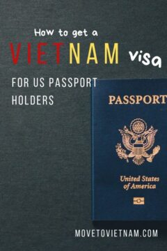 If you hold US passport and planning to either move or travel to Vietnam, check out this Vietnam visa for US citizens guide to find out which one fits your need best. Either Vietnam evisa, invitation letter, and how to get a one year business visa. #vietnavisaforuscitizens