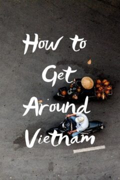 Getting around Vietnam
