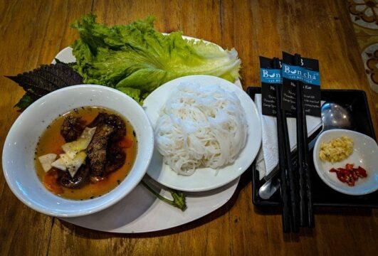 Vietnamese Food - Bún chả