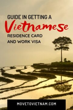 Find out how to get a Vietnam work permit and temporary residence card. We discussed the step by step process, the requirements, the costs, and a lot of tips to help you along the way. #vietnamworkpermit #vietnamresidencecard #movetovietnam
