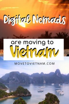 Find out why digital nomads are moving to Vietnam. Is Vietnam the next digital nomad destination for its cost of living, internet speed, and community #travellingvietnam #vietnamitinerary #vietnamtraveltips #traveltovietnam via @movetovietnam