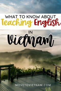 Everything you need to know about teaching English in Vietnam; salary of an ESL teacher in Vietnam, work permit, visa, demo lessons, jobs, scams, and more! #travellingvietnam #vietnamitinerary #vietnamtraveltips #traveltovietnam via @movetovietnam