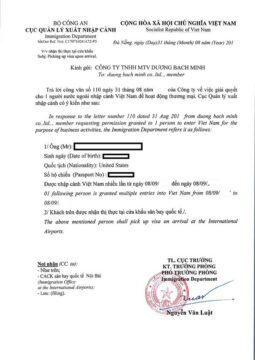 Sample Invitation Letter For Business Visa from movetovietnam.com